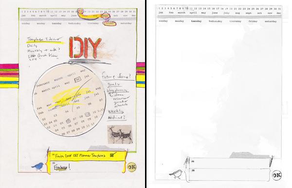 DIY Planner Templates - 2010