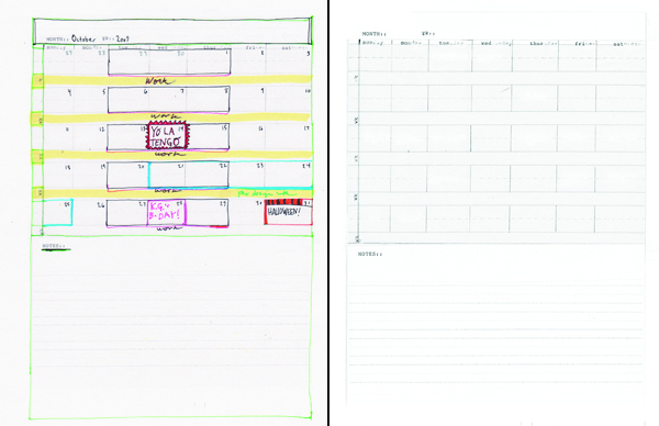 DIY Planner Template - Month