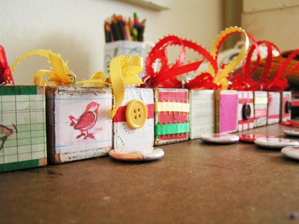 block ornaments
