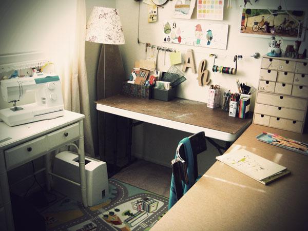 Studio, crafting