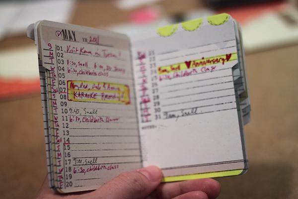 4x6 Booklet Planner