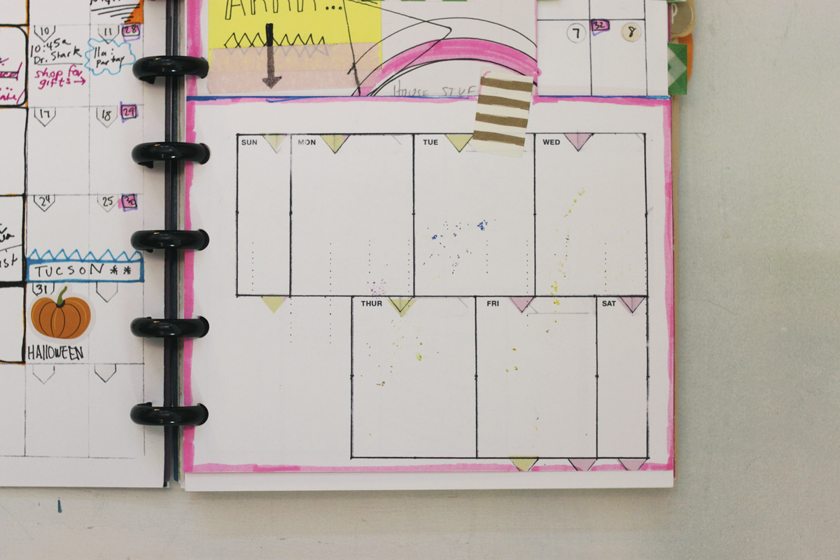 4.25 by 5.5 weekly planner insert by Ahhh Design #diyplanner