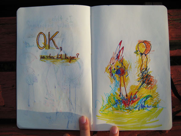 Moleskine scribbles