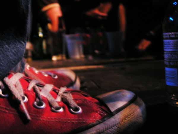 Ira Kaplan's Red Converse