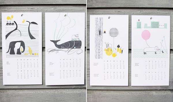 ink+wit 2010 Calendar