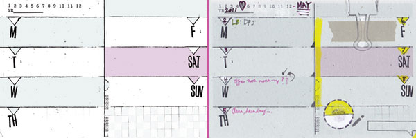4x6 monthly & weekly diy planner templates + meeting notes - Amanda ...