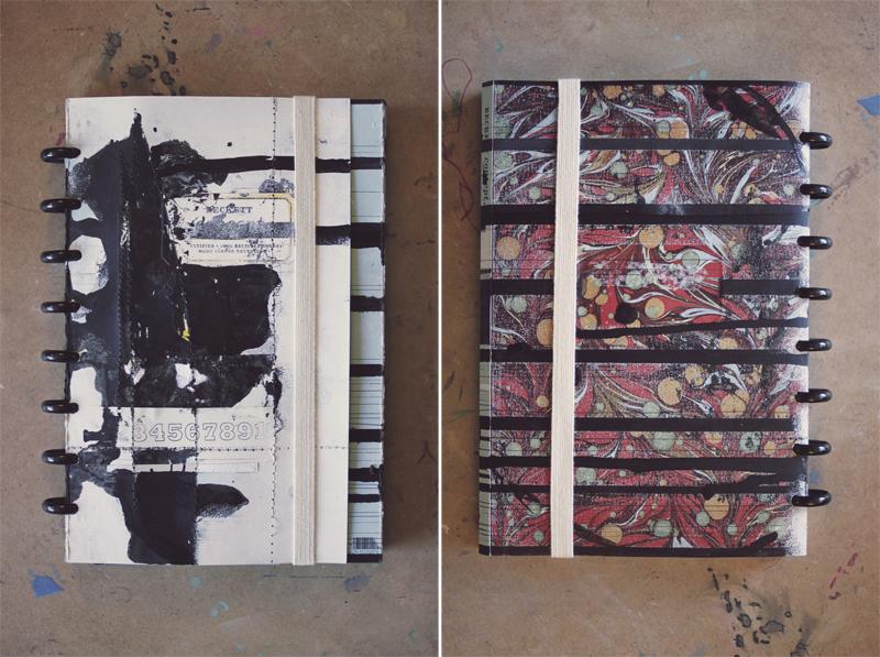 Custom Discbound Cover by Ahhh Design #diyplanner