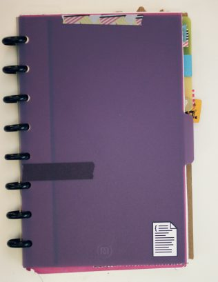 DIY Discbound Planner by Ahhh Design #diyplanner