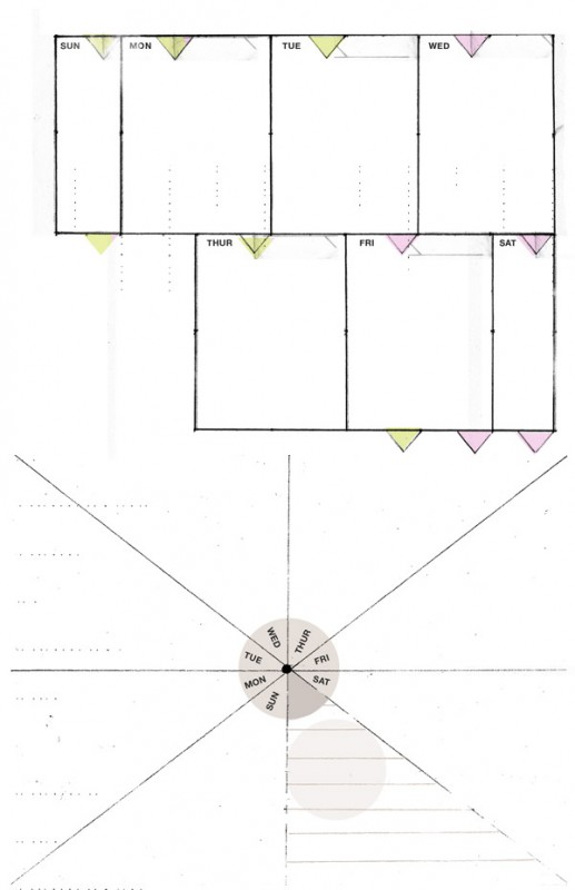8.5 by 5.5 weekly planner by Ahhh Design #diyplanner